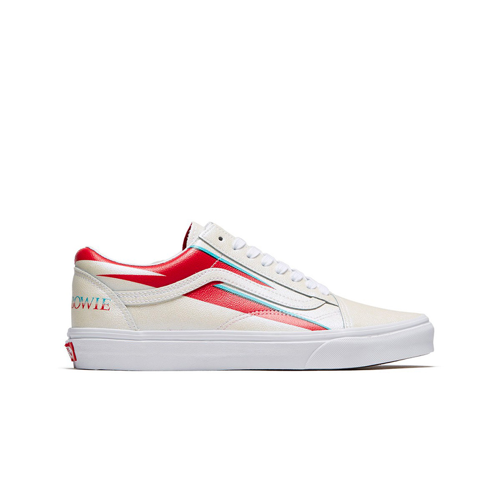 Vans X David Bowie Old Skool Sneakers Aladdin Sane