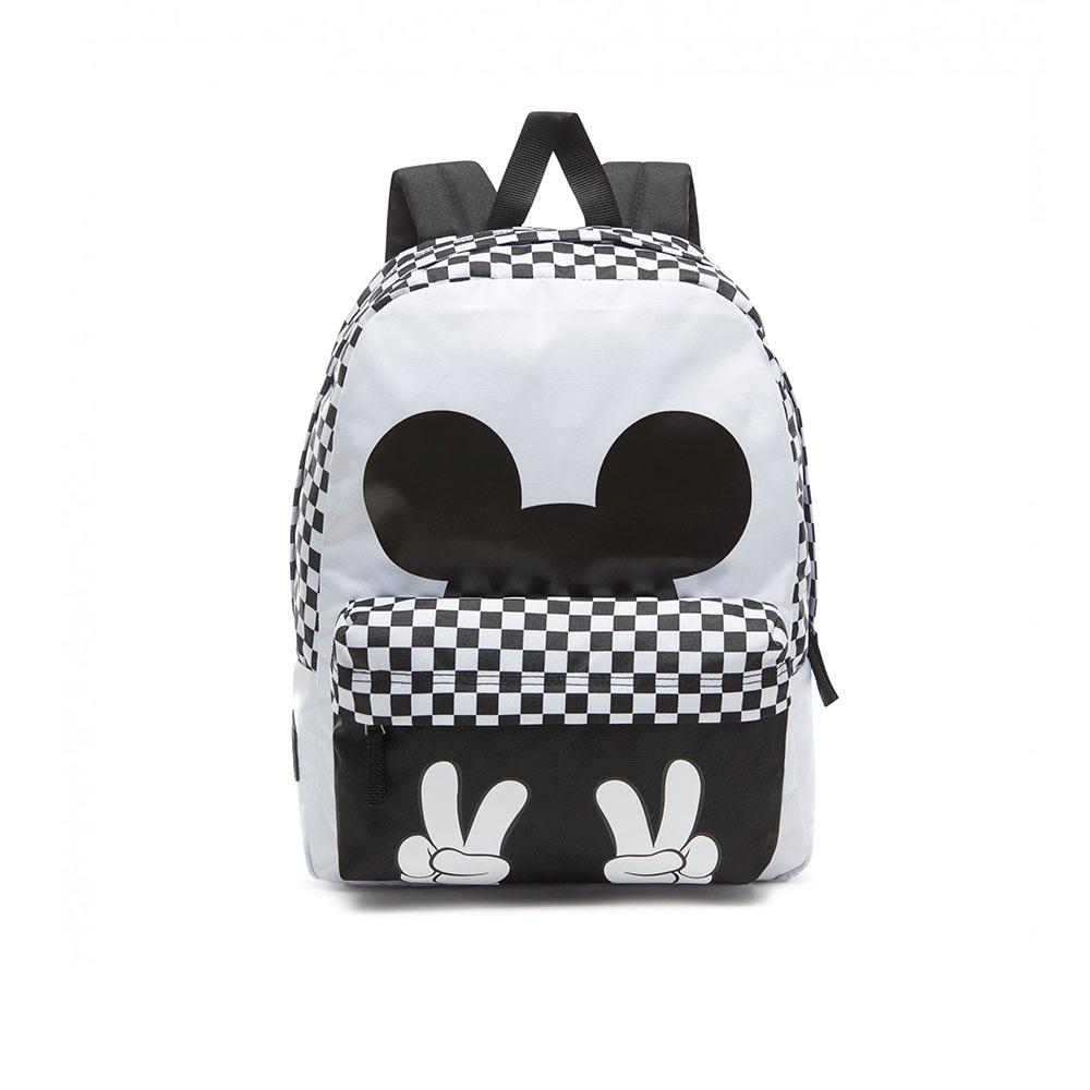 84da22733d Vans X Disney Punk Mickey Realm Backpack VN0A3UHXBLK White