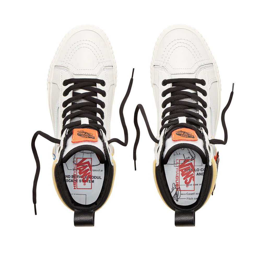 details for the sale of shoes aliexpress Vans X Nasa Space Voyager Sk8-Hi 46 MTE DX VN0A3DQ5UQ4 White