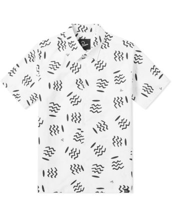 By Parra Vases Camp Collar Shirt