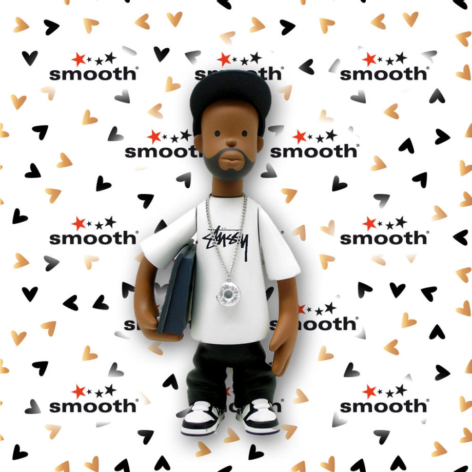 J Dilla Figure by Pay Jay - Stussy Toy 2nd edition