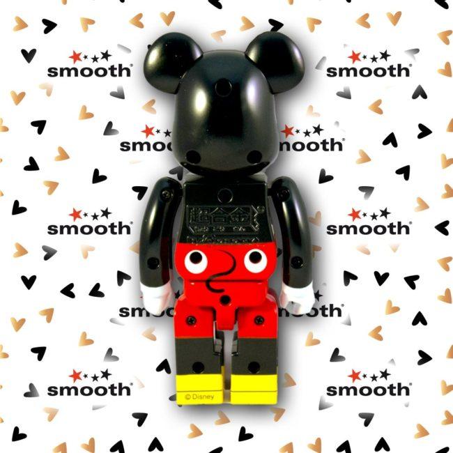 Medicom Toy Chogokin Mickey Mouse - BANDAI Bearbrick 200%