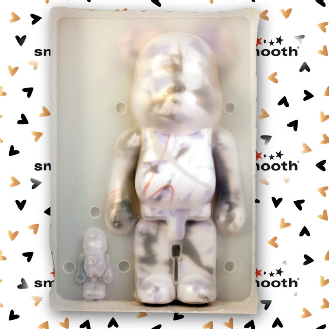 Medicom Toy Futura Set - Bearbrick 100% - 400%