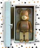 Medicom Toy Karimoku Layered Wood Bearbrick 400%