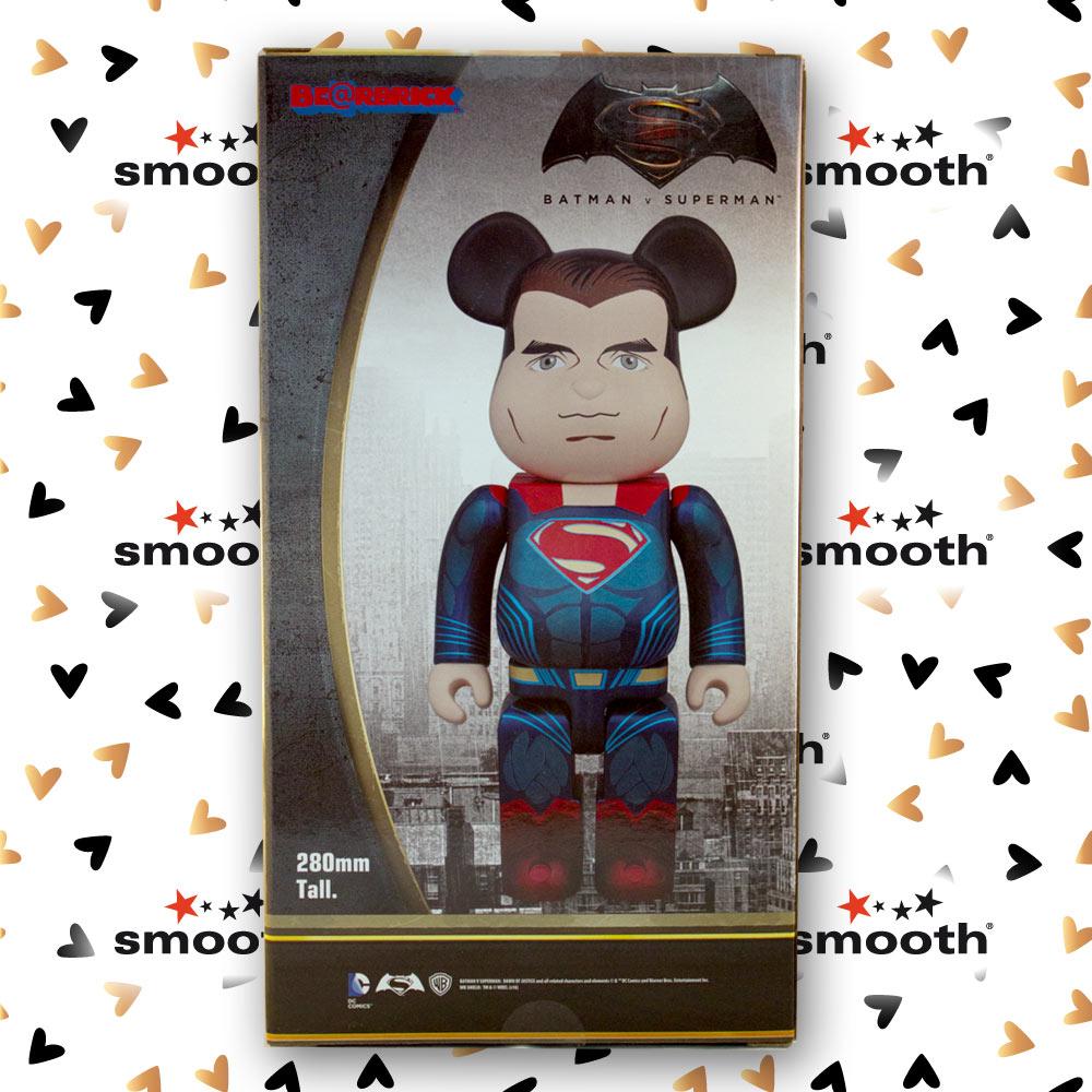 Medicom Toy Superman Batman vs Superman Bearbrick 400%