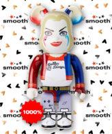 Medicom Toy Bearbrick 1000% Harley Quinn Suicide Squad