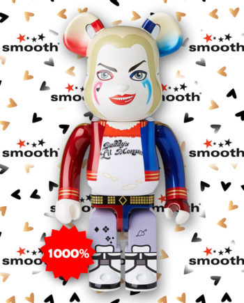 Medicom Toy Bearbrick 1000% Harley Quinn Suicide Squad