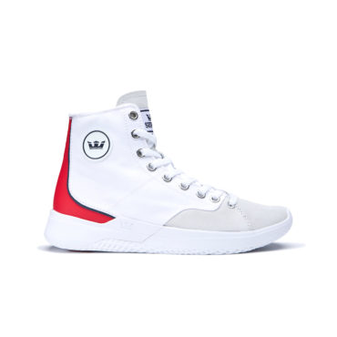 various colors 16635 65407 Supra Statik White-White Sneakers
