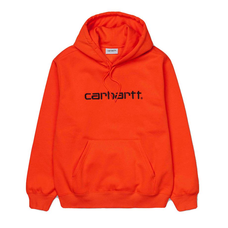 Carhartt Hooded Sweatshirt / Felpa Con Cappuccio Pepper / Black