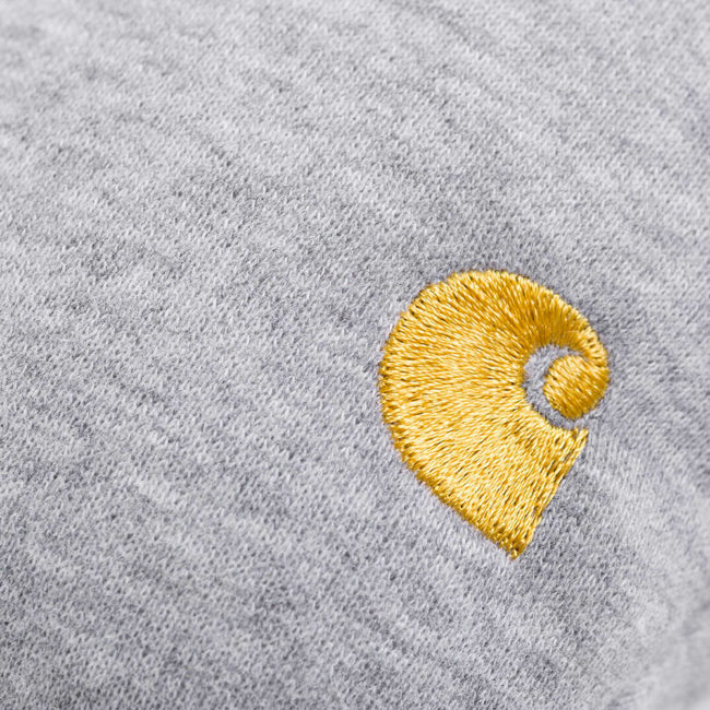 Carhartt Wip Chase Travel Pillow Grey Heather / Gold
