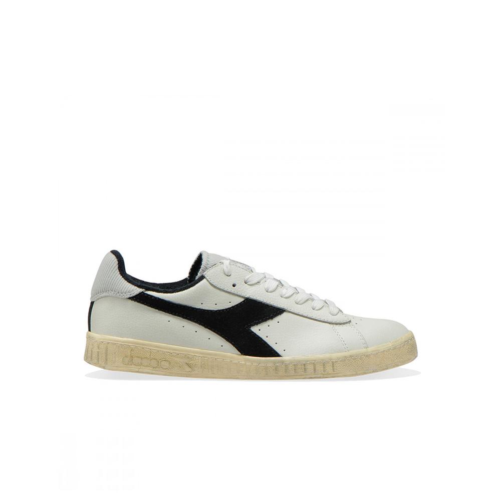 4eadff6bbe Diadora Sportswear Game L Low Used Sneakers White / Black