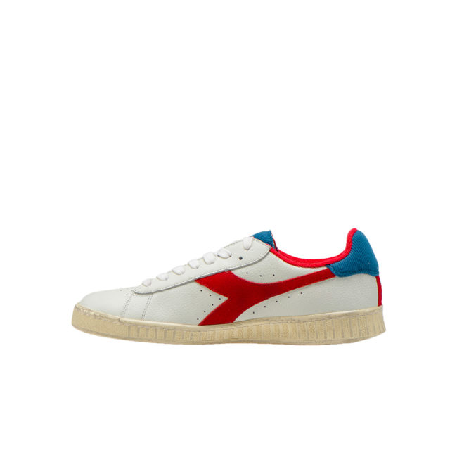Diadora Sportswear GAME L LOW USED White / Dark Red