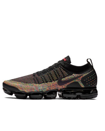 Nike Air VaporMax Flyknit 2 Sneakers Nero / Racer Pink