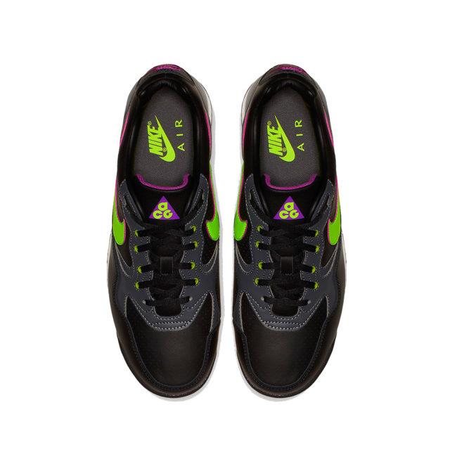 Nike Air Wildwood ACG Sneaker Black / Electric Green