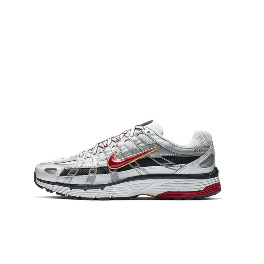 Nike P-6000 Woman Sneakers White / Varsity Red