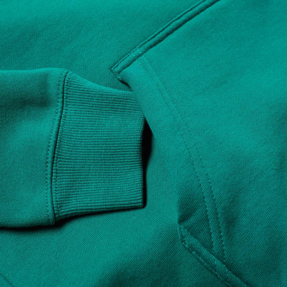 Stussy Basic Copyright Applique Hood / Felpa Con Cappuccio Green