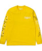 Carhartt Wip X Trojan Boss Sound Long Sleeve T-Shirt Yellow