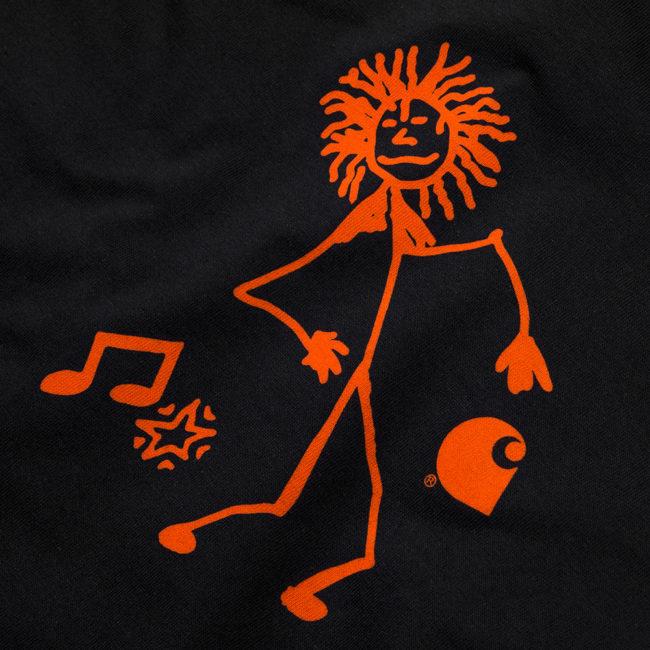 Carhartt WIP X Trojan King Of Sound T-Shirt Black