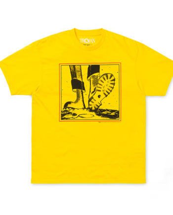 Carhartt Wip X Trojan Moonstomp Short Sleeve T-Shirt Yellow