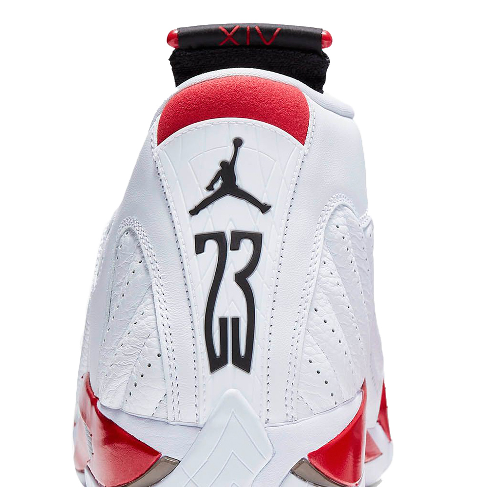 check out 03047 a3ff9 Nike Air Jordan 14 Retro Shoes White / Black / Varsity Red