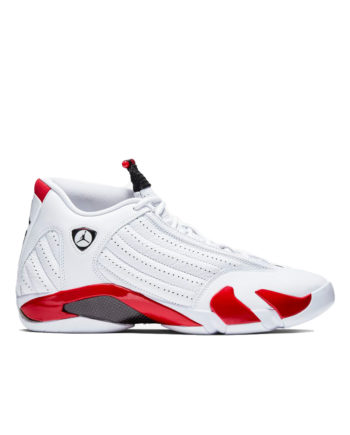 Nike Air Jordan 14 Retro Shoes White / Black / Varsity Red