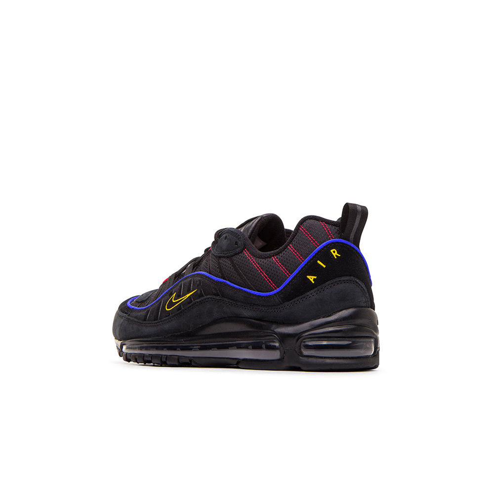 Official Look At The Nike Air Max 98 Black Amarillo