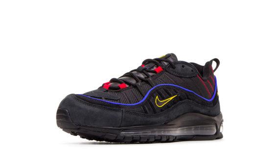 Nike Air Max 98 Sneakers Black Amarillo