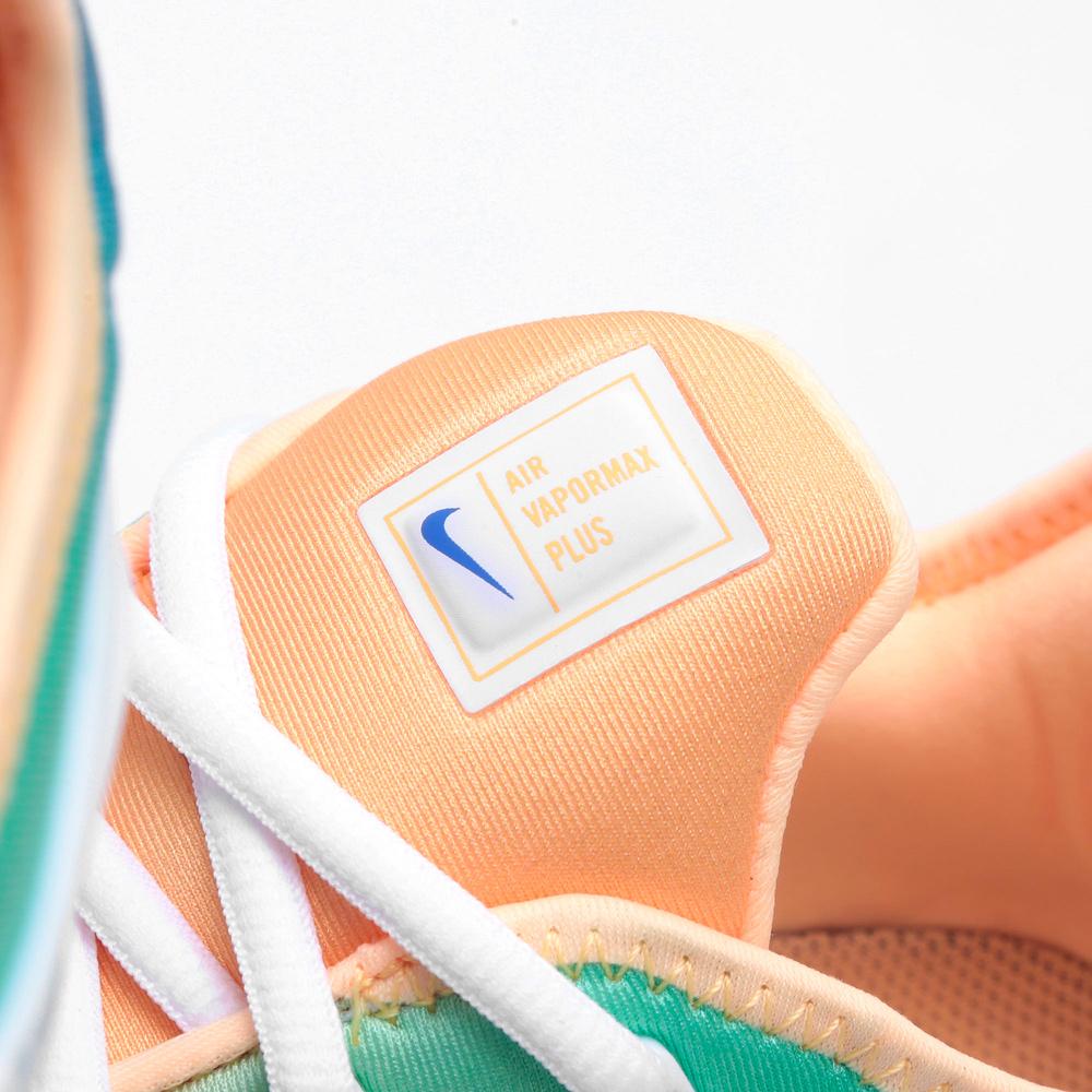 premium selection 820b4 2e879 Nike W Air Vapormax Plus Woman Sneakers White Light Menta