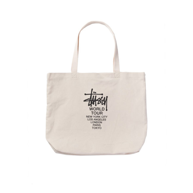 Stussy Canvas Tour Tote Bag / Borsa