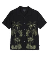 Stussy Palm Tree Shirt / Camicia Black