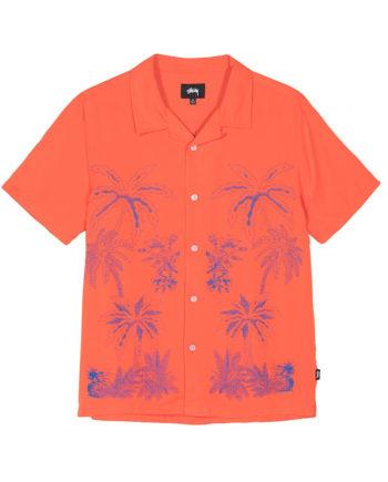 Stussy Palm Tree Shirt / Camicia Orange