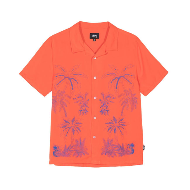 Stussy Palm Tree Shirt / Camicia Orange