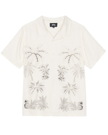 Stussy Palm Tree Shirt Off White