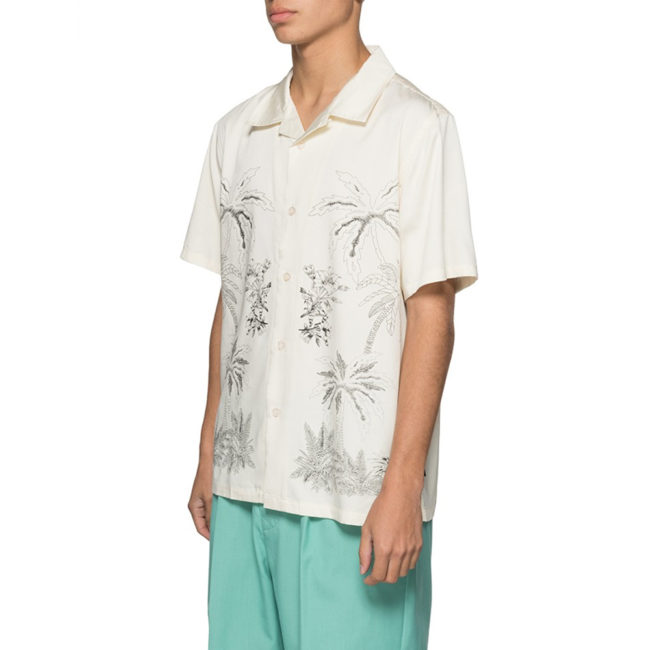 Stussy Palm Tree Shirt Off White