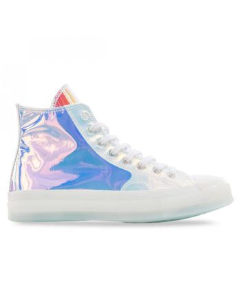 Converse Chuck 70 Hi 163786C Shoes White / Iridescent