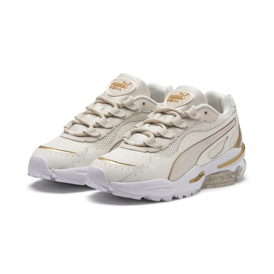 Puma CELL Stellar Soft Women's Sneakers White Gold