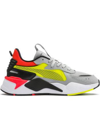 Puma RS-X Hard Drive Sneakers High Rise Yellow Alert