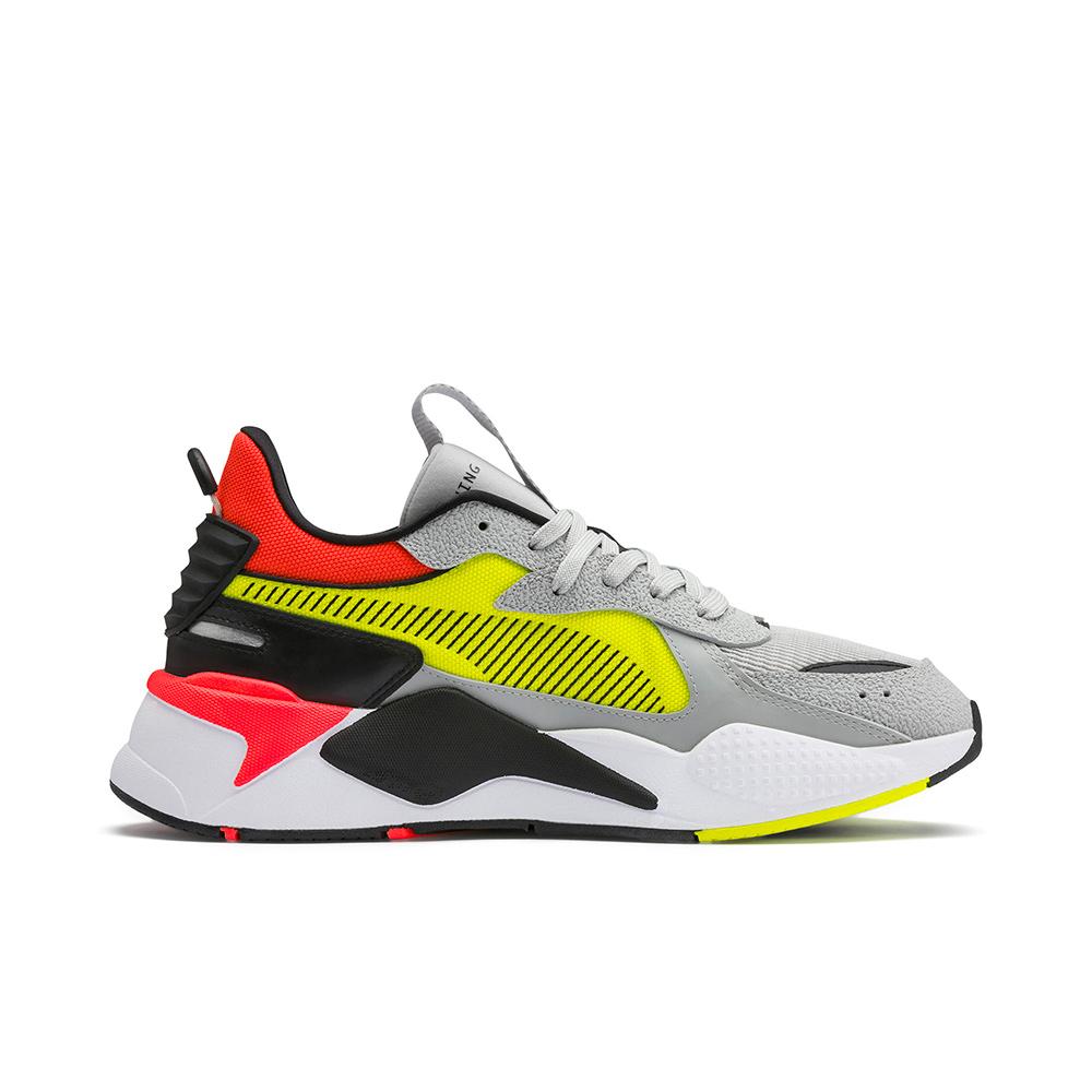 9721ef7b6e42 Puma RS-X Hard Drive Sneakers High Rise Yellow Alert