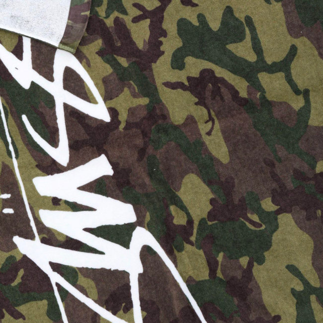 Stussy Beach Towel Camo STF Collection