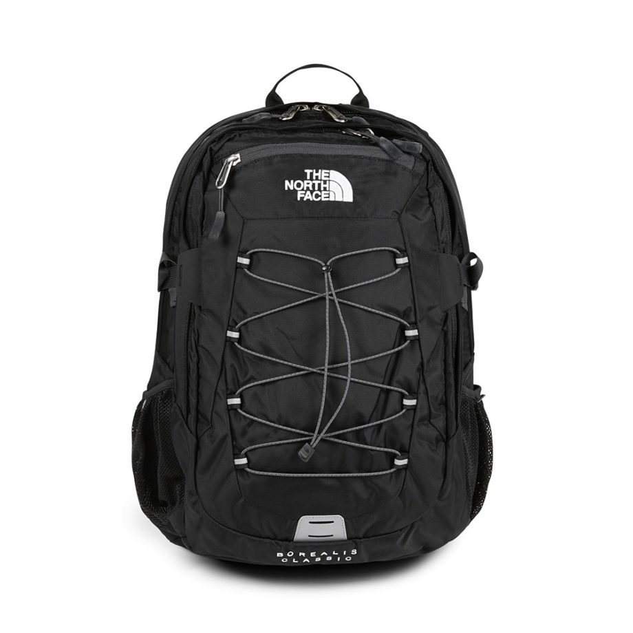 The North Face Borealis Classic Backpack / Zaino Black Asphalt Grey