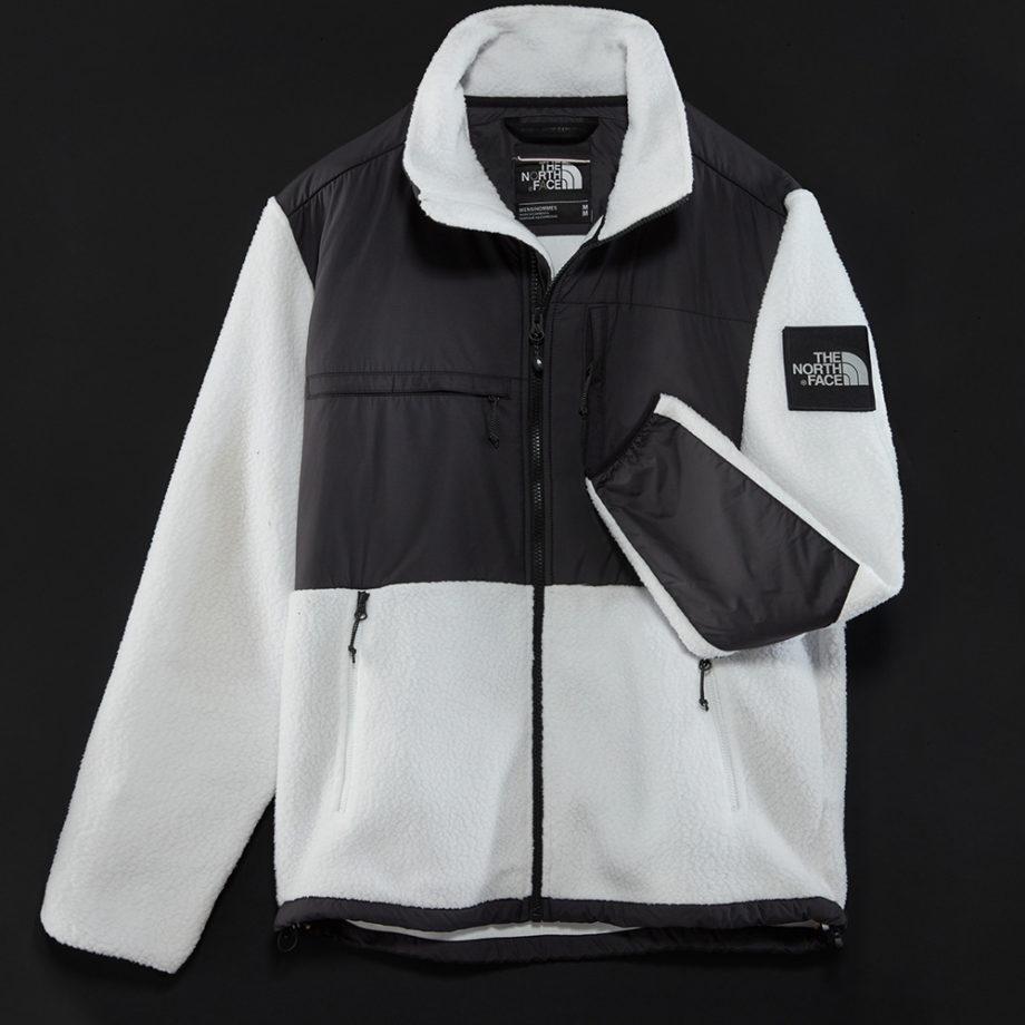 The North Face Man Denali Full Zip Fleece White