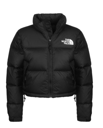 The North Face Nuptse Crop TNF Woman Jacket Black