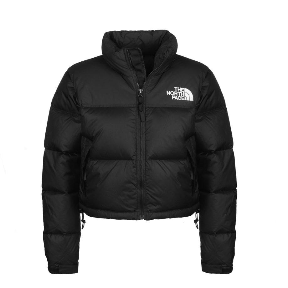 The North Face Nuptse Crop TNF Woman Jacket Black