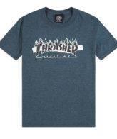 Thrasher Ripped T-Shirt Dark Heather