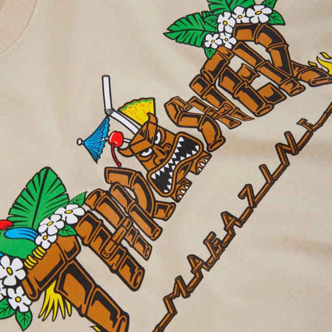 Thrasher Tiki T-Shirt Sand