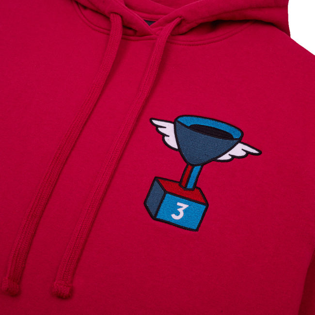 By Parra 3rd Prize Cup Winner Hooded Sweatshirt Purplepink