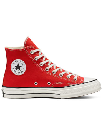 Converse Chuck 70 Vintage Canvas High Top Shoes Enamel Red