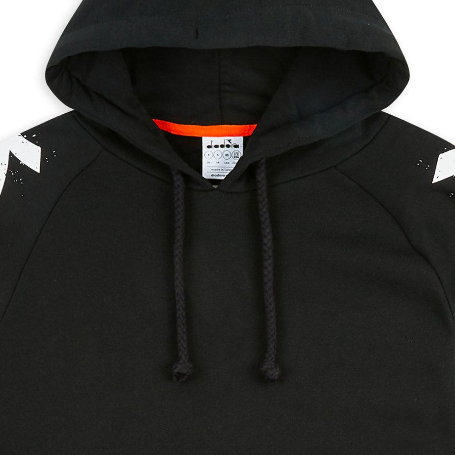 Diadora Sportswear HOODIE ONE / Felpa Con Cappuccio Black