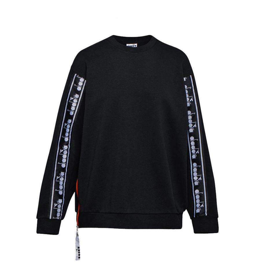 Diadora Sportswear Trofeo Crew Sweatshirt / Felpa Girocollo Black