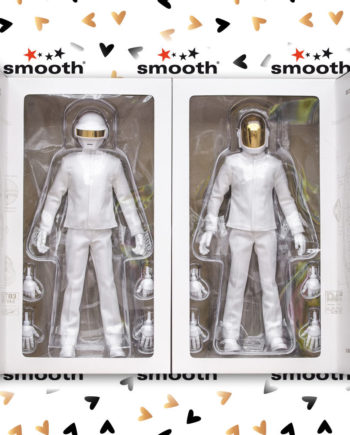 Medicom Toy Daft Punk Real Action Hero White Suits Grammy scale 1/6